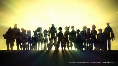 My Hero Academia Heroes Rising Class1-A