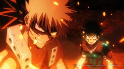 My Hero Academia: Heroes Rising [Katsuki Bakugo (left) and Izuku Midoriya [Deku] (Right)]