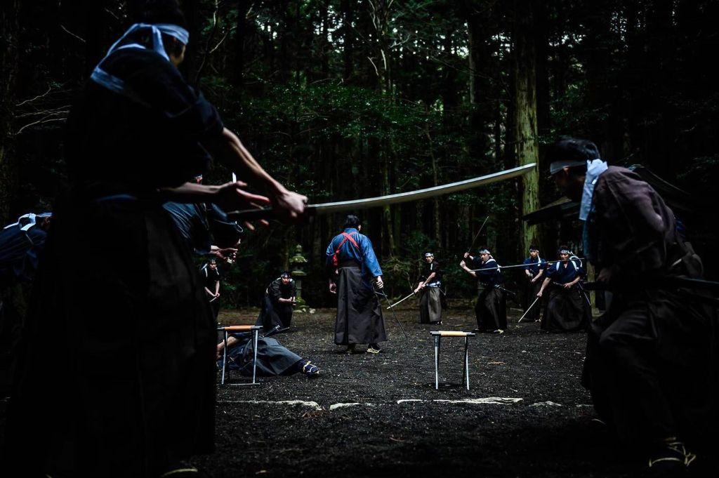 Crazy Samurai Musashi (2020) by Yûji Shimomura.